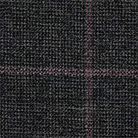 Dark Gray&Pink 100% Super 100'S Wool Custom Suit Fabric