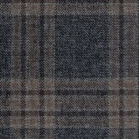 Charcoal&Brown 100% Super 100'S Wool Custom Suit Fabric