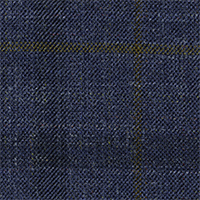 Slate Blue 87% Super 140'S Wool 13% Silk Custom Suit Fabric