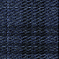 French Blue 100% Super 140'S Wool Custom Suit Fabric