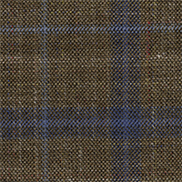 Light Brown 87% Super 140'S Wool 13% Silk Custom Suit Fabric