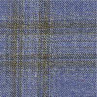 Light Blue 87% Super 140'S Wool 13% Silk Custom Suit Fabric