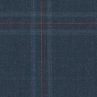 Dark Blue 100% Super 130'S Worsted Custom Suit Fabric