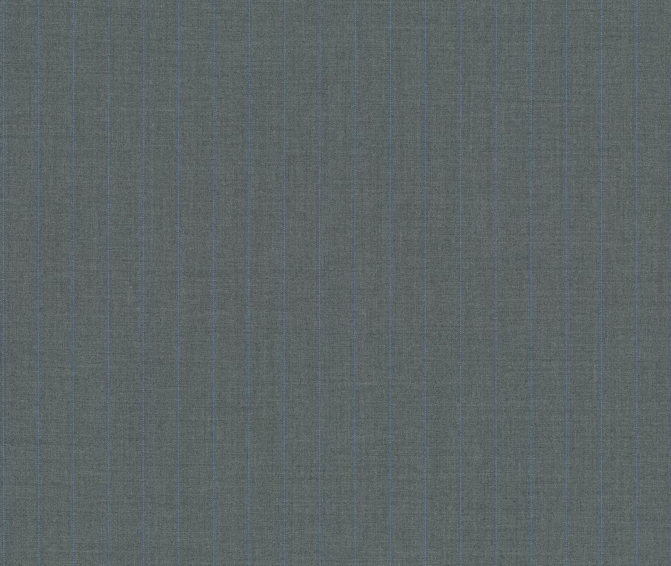 Light Gray 100% Super 130'S Wool Custom Suit Fabric