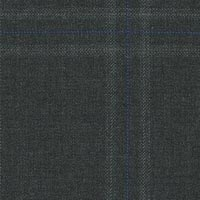 Dark Gray 95% Super 160S Wor 5% Cashmere Custom Suit Fabric