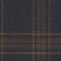 Navy&Brown 100% Wool Worsted Custom Suit Fabric