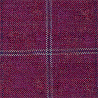 Red 100% Super 130'S Wool Custom Suit Fabric