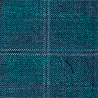 Green 100% Super 130'S Wool Custom Suit Fabric