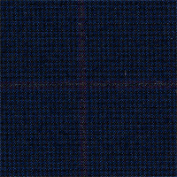 Dark Navy 100% Super 180'S Wool Custom Suit Fabric