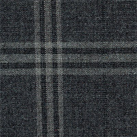 Gray 100% Super 180'S Wool Custom Suit Fabric