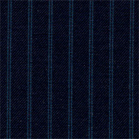 Navy 100% Super 180' Wool Custom Suit Fabric