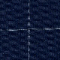 Blue 100% Super 180' Wool Custom Suit Fabric