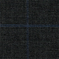 Dark Gray 100% Super 180' Wool Custom Suit Fabric