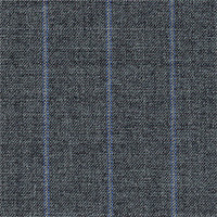 Gray 100% Super 180' Wool Custom Suit Fabric