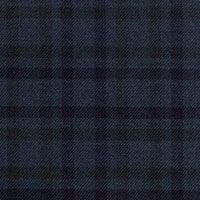 Slate Blue 100% Super 180'S Wool Custom Suit Fabric