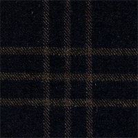 Char Blue 100% Super 180'S Wool Custom Suit Fabric