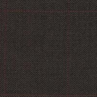 Brown 99% S100's Worsted 1% Cashmere Custom Suit Fabric