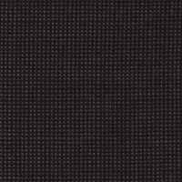 Black Gray 99% S100's Worsted 1% Cashmere Custom Suit Fabric
