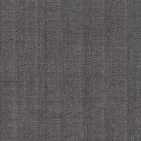 Light Gray 95% S100s Worsted 5% Cashmere Custom Suit Fabric