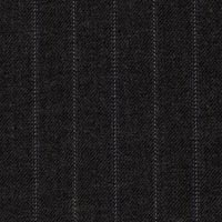 Charcoal 100% S140s Merino Wool Custom Suit Fabric