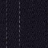 Navy 100% S140s Merino Wool Custom Suit Fabric