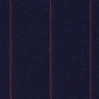 Indigo 100% S140s Merino Wool Custom Suit Fabric