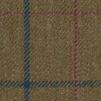 Olive 100% Wool Custom Suit Fabric