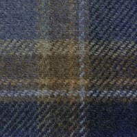 Blue 100% Wool Custom Suit Fabric