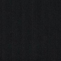 Black 100% Merino Worsted Custom Suit Fabric