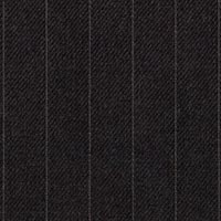 Char Gray 100% Worsted Custom Suit Fabric