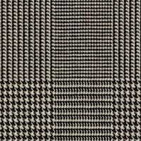 Black&White 100% Worsted Custom Suit Fabric