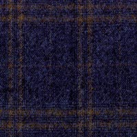 Blue 98%S160s Worsted 1%Cash1%Smink Custom Suit Fabric