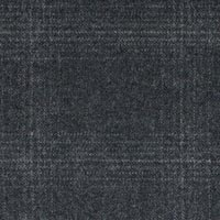 Charcoal 100% S130s Merino Wool Worsted Custom Suit Fabric