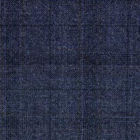 Navy 100% S130s Merino Wool Worsted Custom Suit Fabric