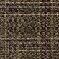Brown 100% S130s Merino Wool Worsted Custom Suit Fabric