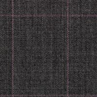 Gray 100% Super 120'S Worsted Custom Suit Fabric