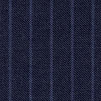 Blue 98% S160smerino 1%Cash 1%Smink Custom Suit Fabric