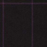 Black 98% S160smerino 1%Cash 1%Smink Custom Suit Fabric