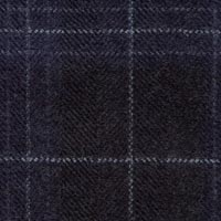Midnight 50% Wool 30% Alpaca 20% Silk Custom Suit Fabric