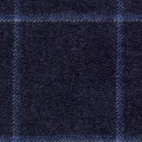 Navy 50% Wool 30% Alpaca 20% Silk Custom Suit Fabric