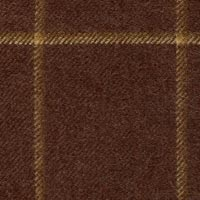 Brown 50% Wool 30% Alpaca 20% Silk Custom Suit Fabric