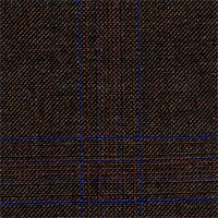 Dark Brown 100% Super 120'S Wool Custom Suit Fabric