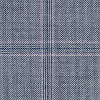 Silver&Blue 100% Super 140'S Wool Custom Suit Fabric