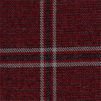 Wine 100% Super 120'S Wool Custom Suit Fabric