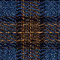 Blue&Brown 100% Super 140'S Wool Custom Suit Fabric