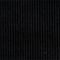 Black 100% Cotton Custom Suit Fabric