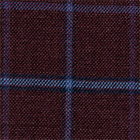 Maroon 100% Super 100'S Wool Custom Suit Fabric