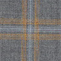 Light Gray 100% Super 100'S Wool Custom Suit Fabric