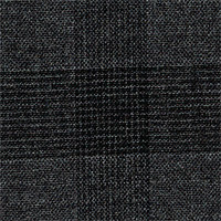 Gray 100% Super 140'S Wool Custom Suit Fabric