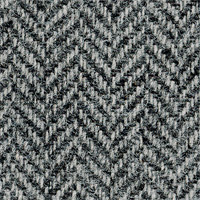 Gray 100% Shetland Wool Custom Suit Fabric